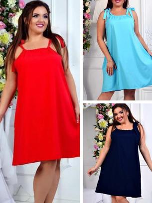голубое платье, платья больших размеров, летнее платье