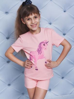 Симпатичная детская пижама с шортиками