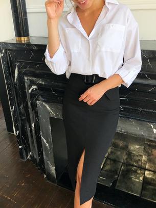 Шикарная женская юбка с поясом в комплекте