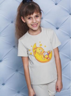 Мягенькая детская пижама с шортиками