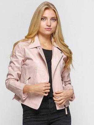 женские куртки демисезонные, модные женские куртки из экокожи