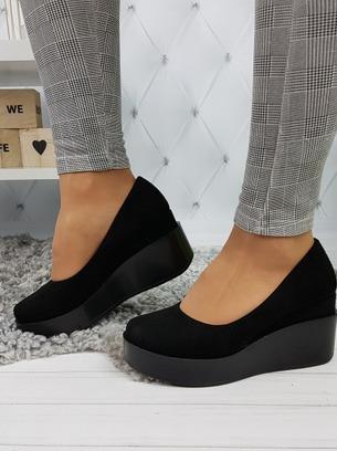 черные туфли на подошве
