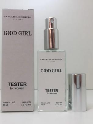 Тестер женский Carolina Herrera Good Girl (Каролина Херрера Гуд Герл) 60мл