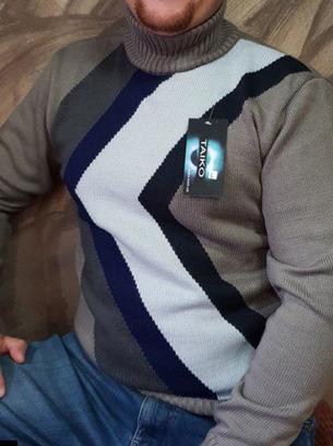 мужские свитера, мужские теплые вязанные свитера