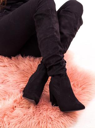 модные сапожки гармошкой