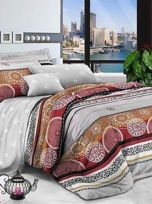 котоновое постельное, орнамент постельное