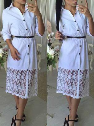 платья рубашка новинки, белое платье рубашка, черное платье рубашка, платье рубашка с гипюром
