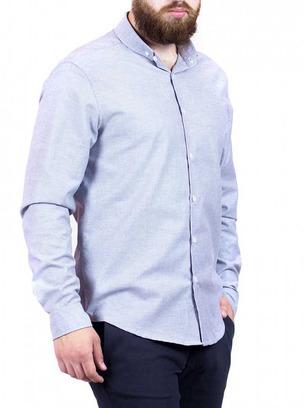 светло серая рубашка мужская