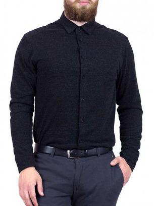 черная рубашка мужская
