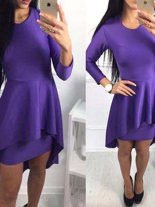 нарядное платье. платье с баской