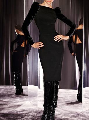 велюровые платья женские