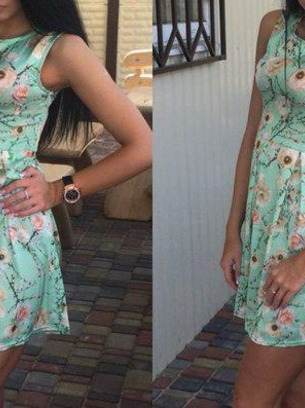 модные молодежные платья, модные платья на лето