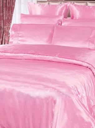 розовое постельное белье