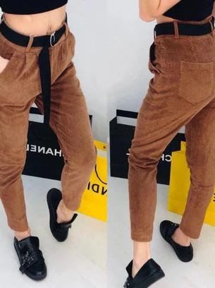 вельветовые женские брюки