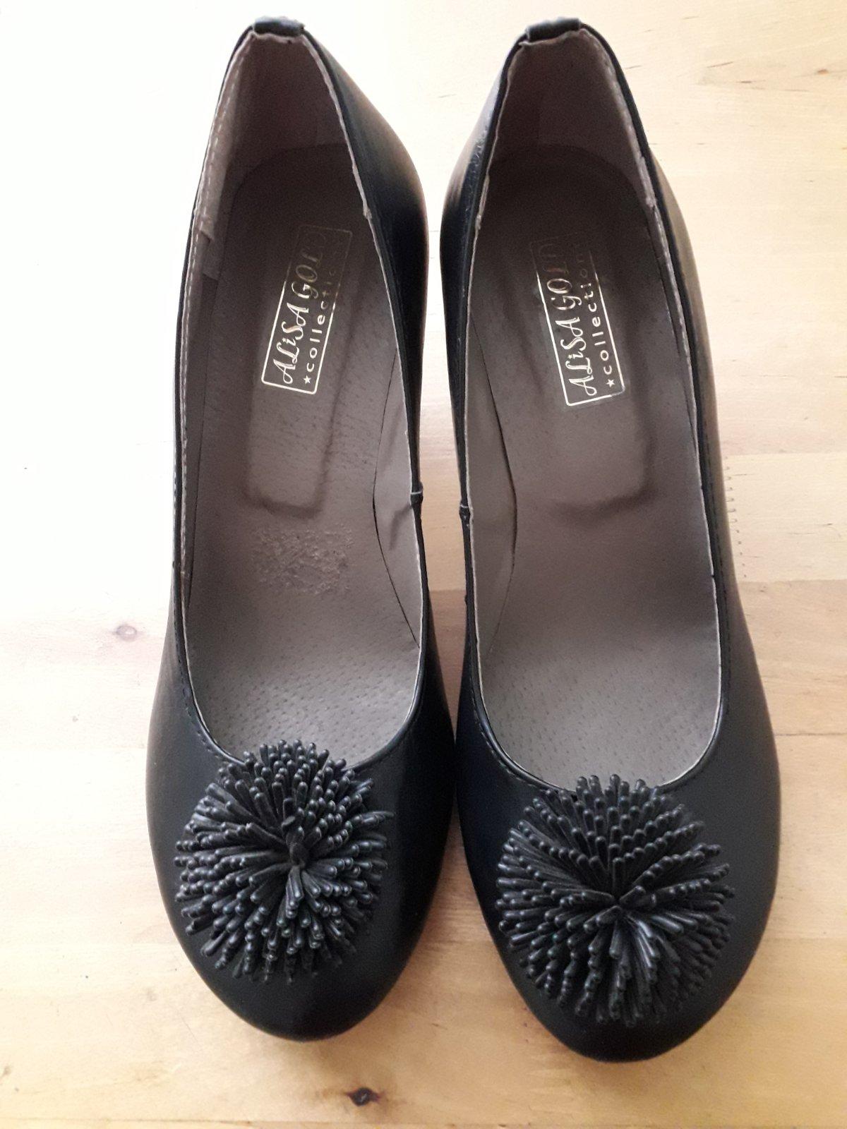 женские туфли, туфли черные