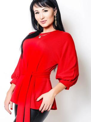 синяя блузка, красная блузка, бордовая блузка