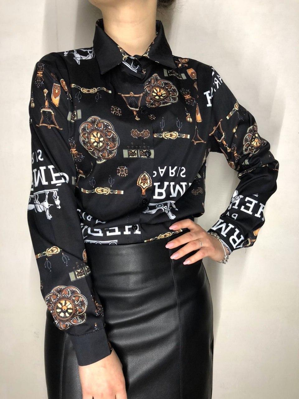 Шикарная деловая женская рубашка