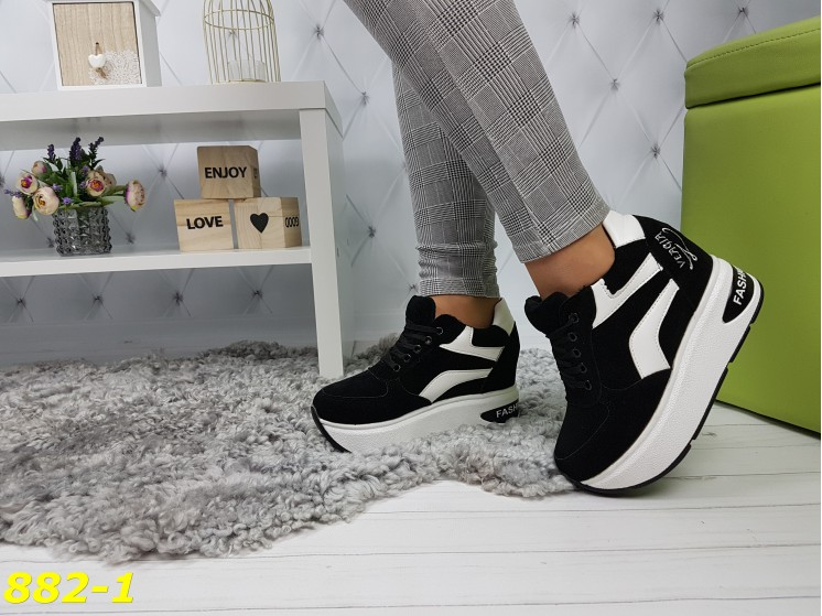 модные кроссовки на платформе