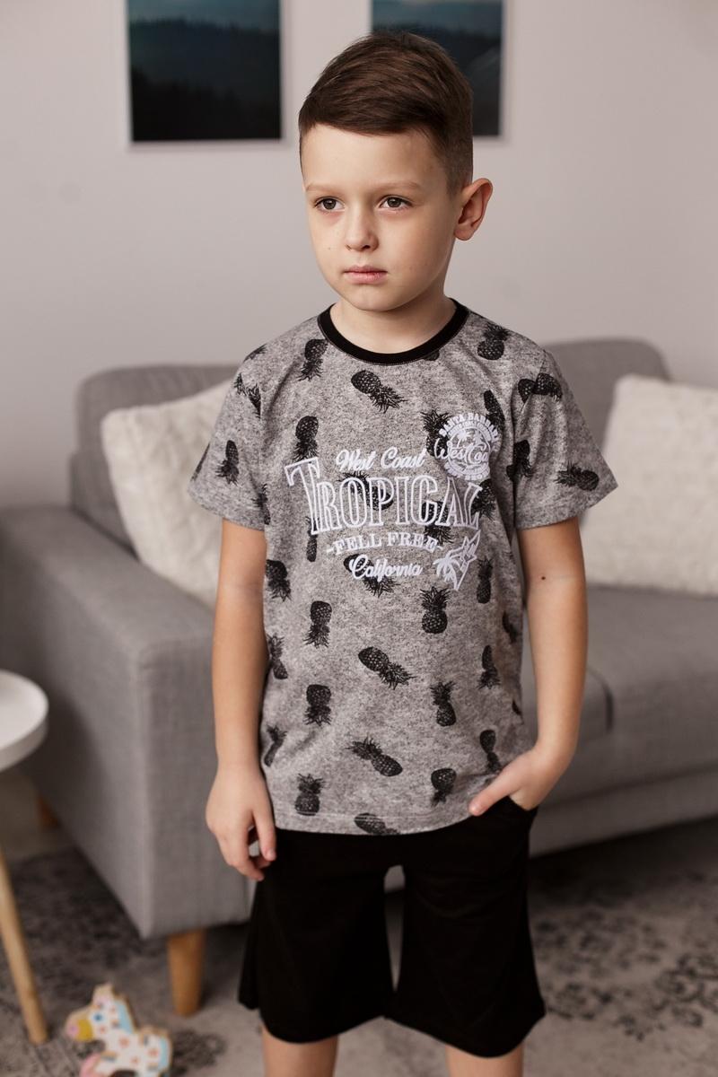 Модный комплект с шортиками для мальчика