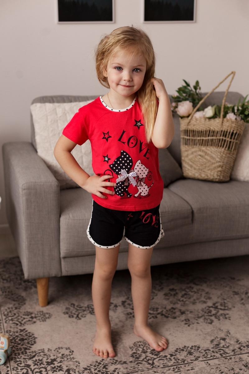 Нереально крутой комплект для девочки с шортами