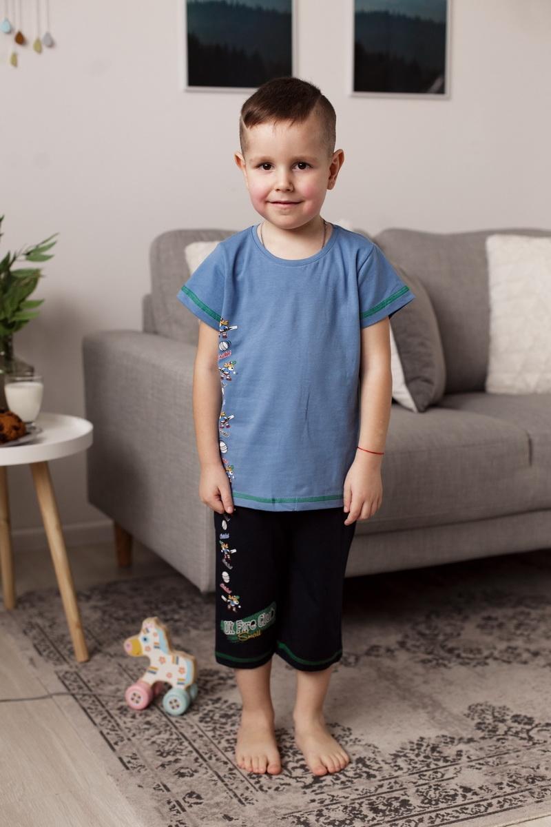 Стильный комплект c шортиками капри для мальчика