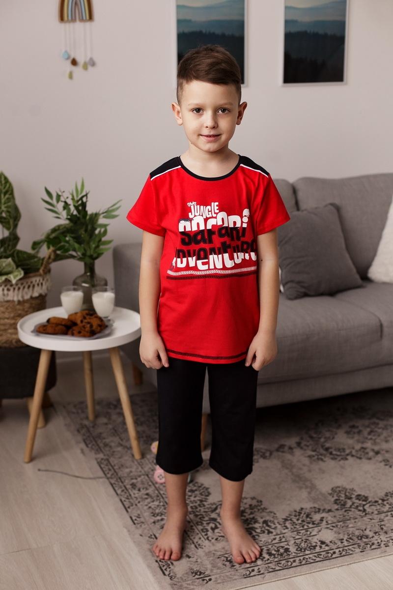 Классная пижама с шортиками капри для мальчика