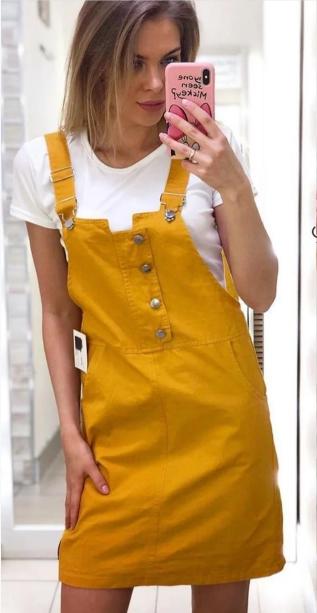Шикарный яркий женский летний комплект двойка футболка+сарафан