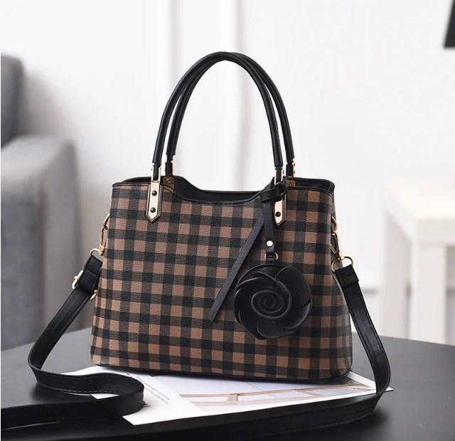 Крутая женская классическая сумка из искусственной кожи