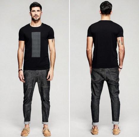 Шикарные стрейчевые мужские джинсы