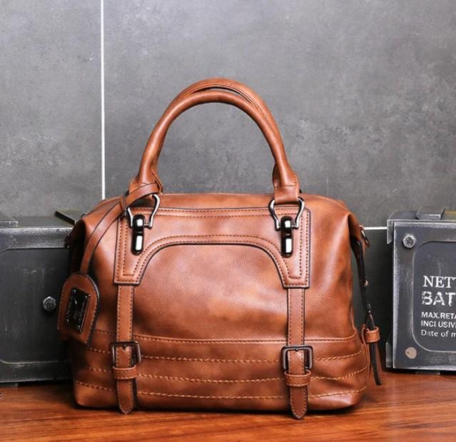 Женская большая сумка из экокожы