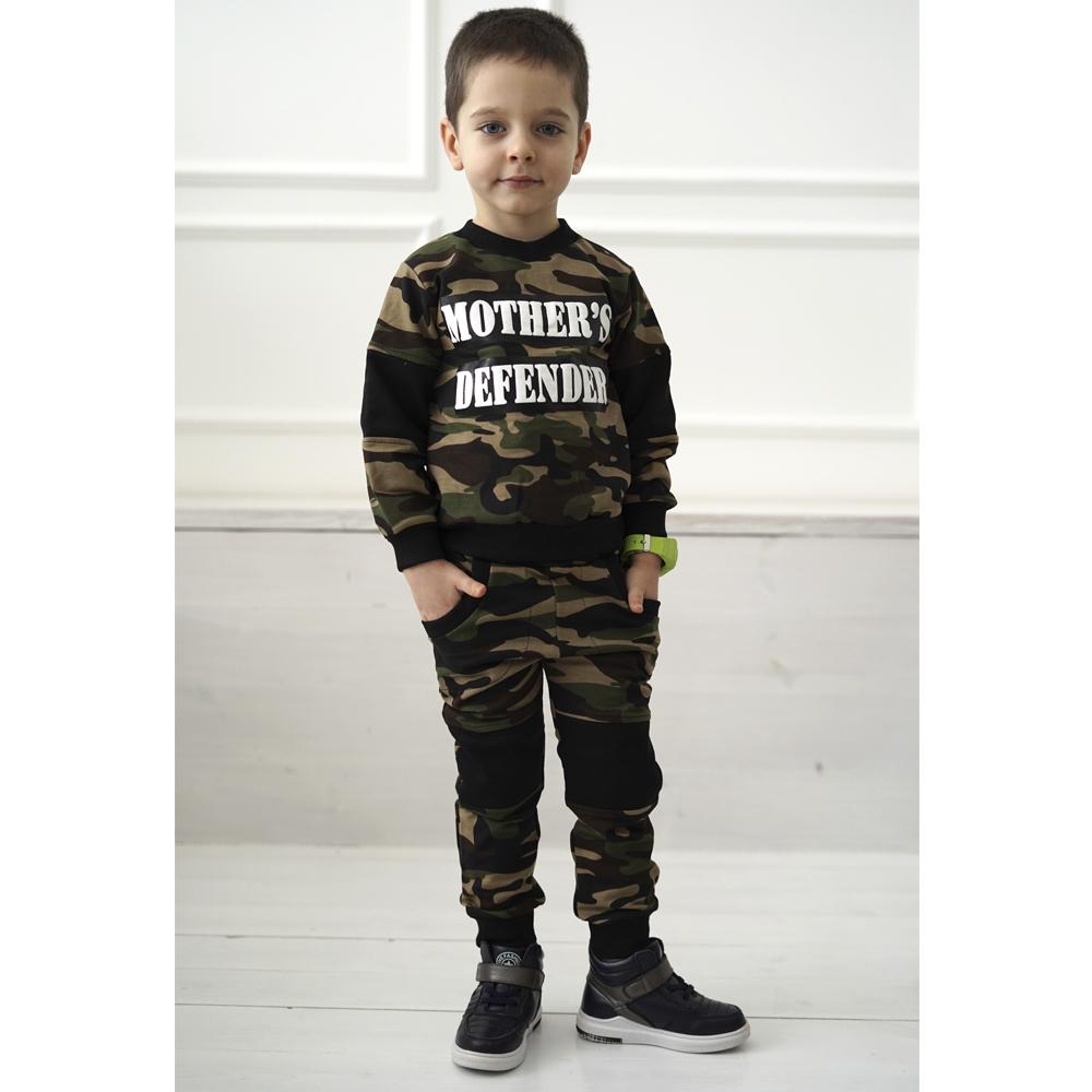 Обалденный костюм для мальчика в стиле милитари