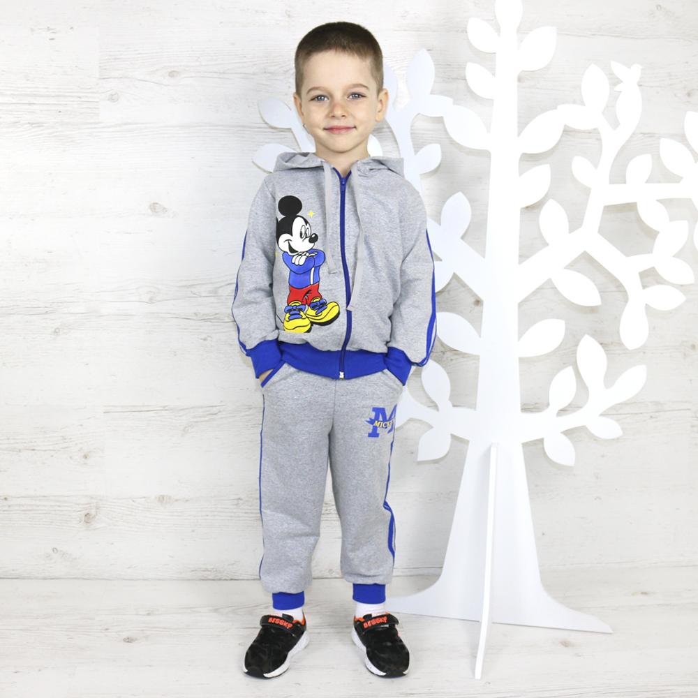 Модный костюм для мальчика с любимым героем