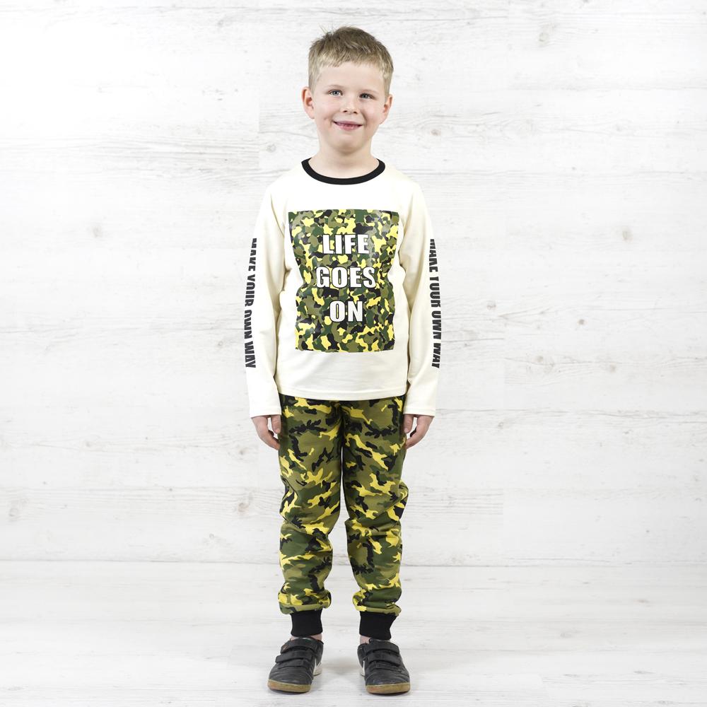 Трендовый костюм для мальчика в стиле