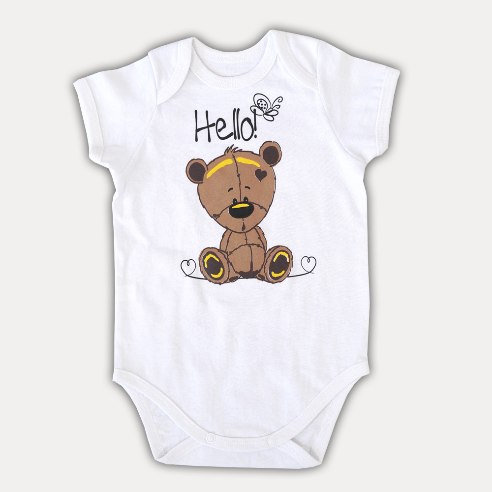 Оригинальное и очень нежное боди для новорожденных