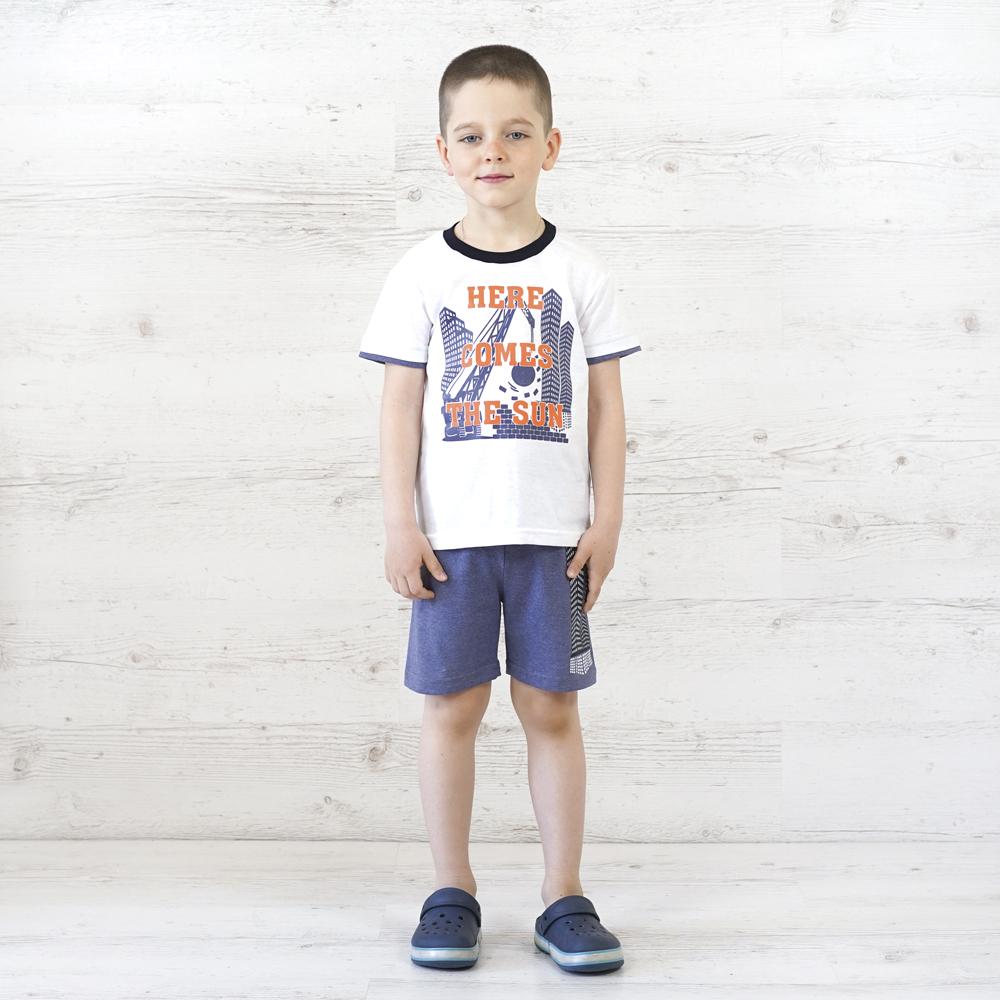 Очень легкий и стильный костюм для мальчика