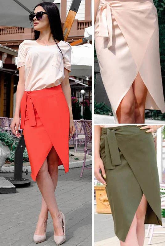 Шикарная легкая женская юбка миди больших размеров