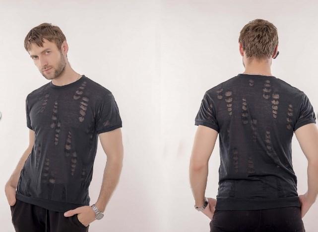 Легкая и комфортная мужская футболка