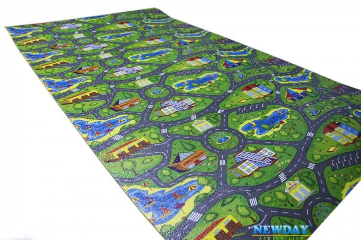 Игровой детский коврик для малышей 2000х1100х8мм « ...