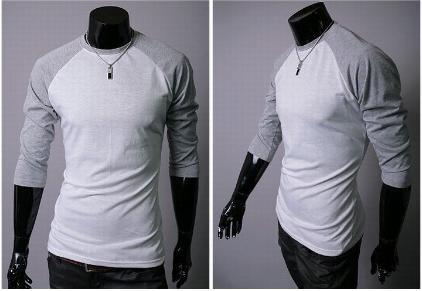 Легкая мужская футболка с рукавами реглан
