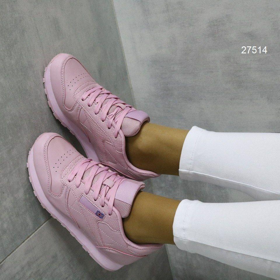Удобные яркие женские кроссовки классической формы