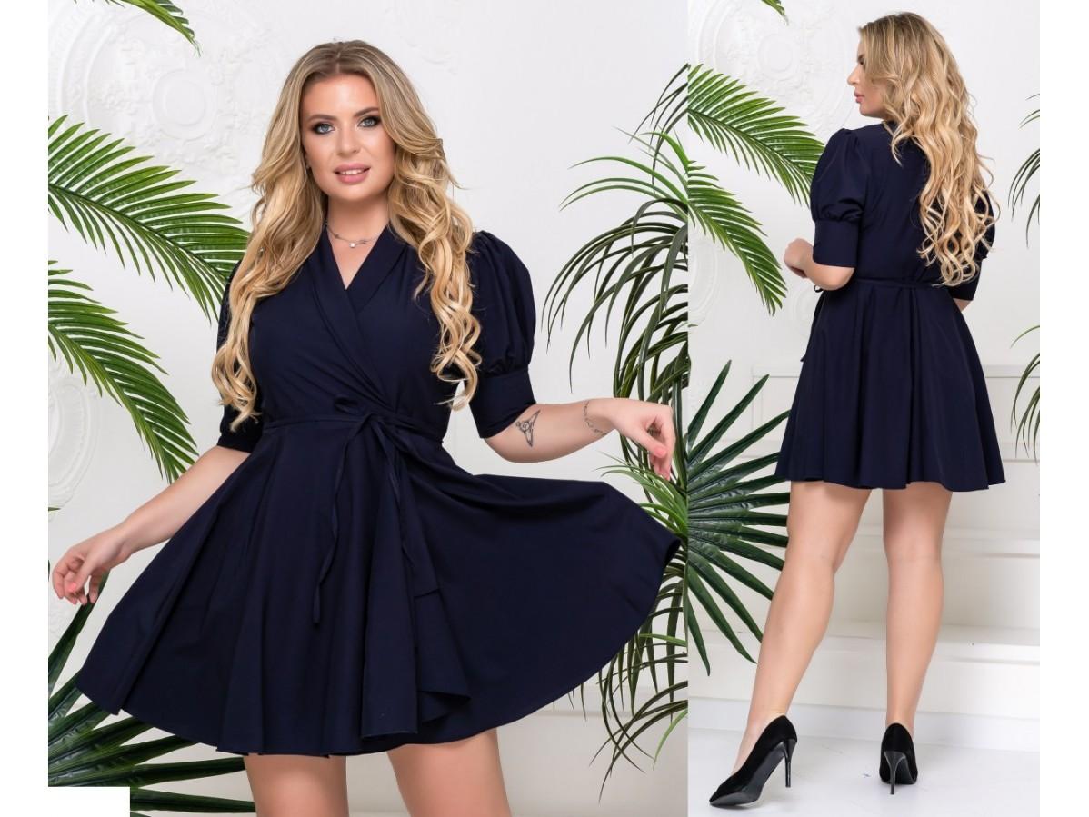 Сексуальное женское платье больших размеров