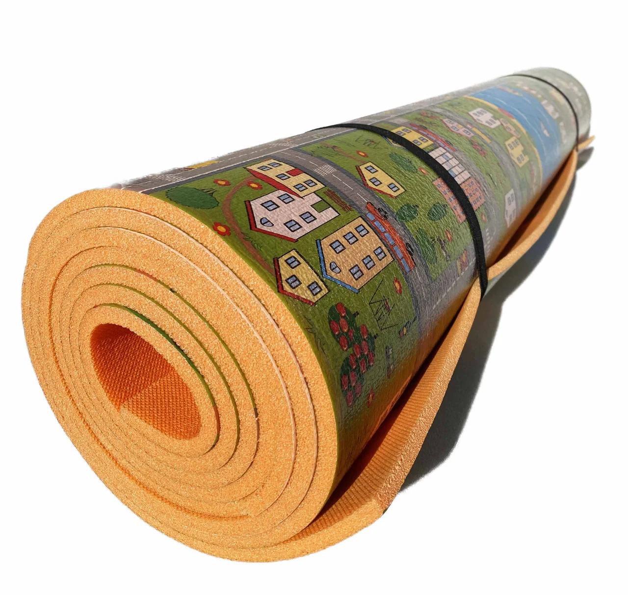 Детский коврик 3000х1200х8мм  теплоизоляционный, развивающий, игровой коврик