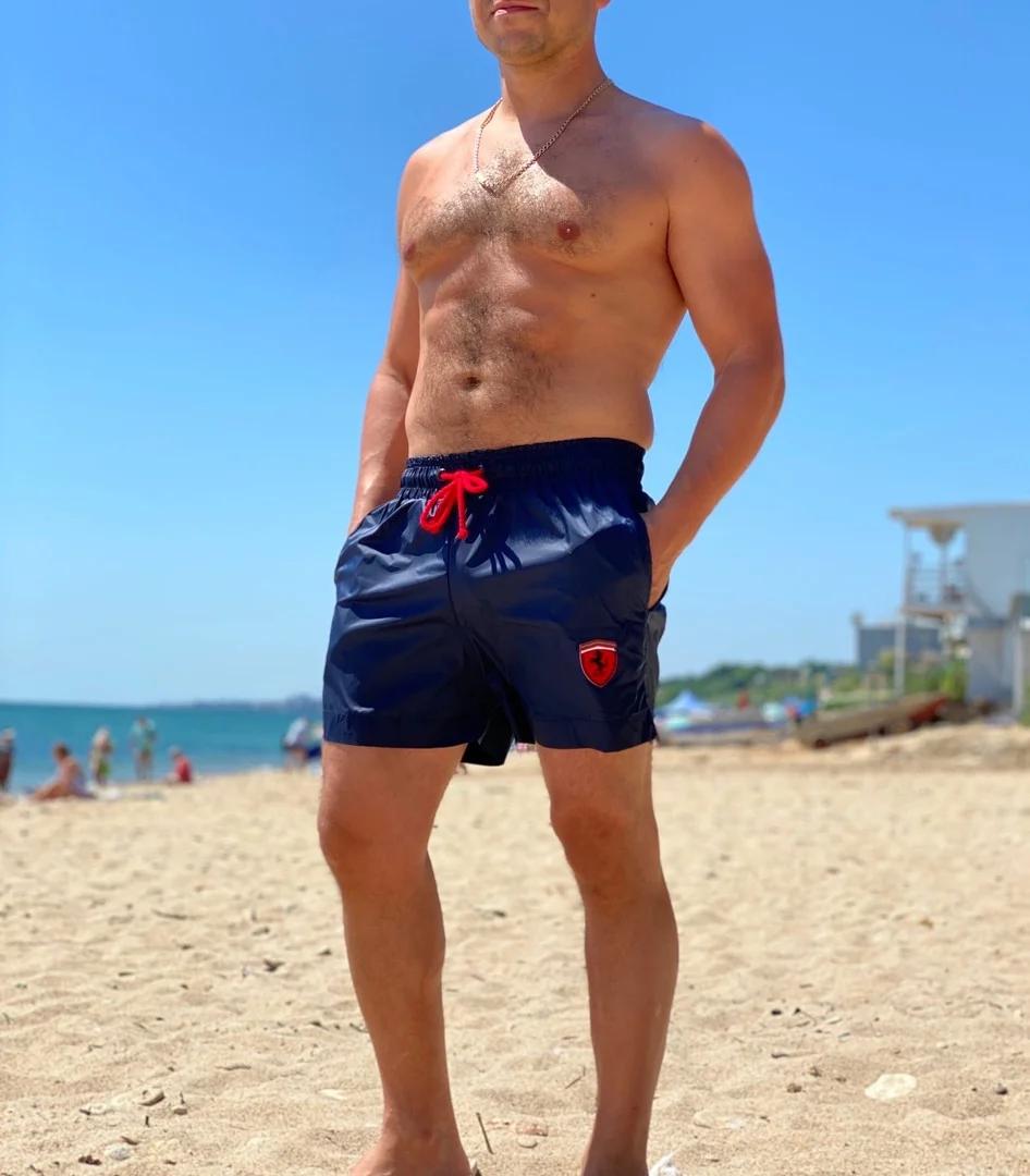 Крутые мужские летние пляжные шорты с подкладкой