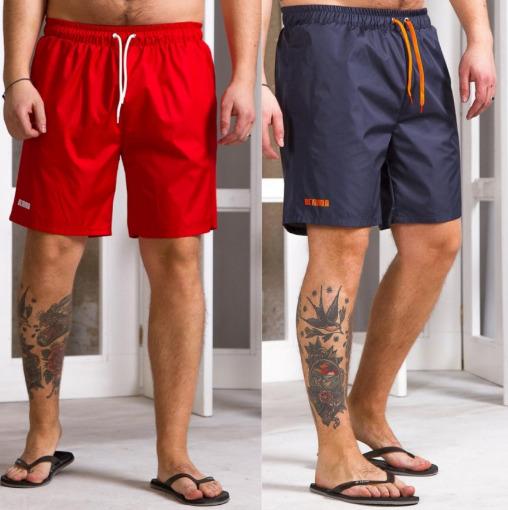 Стильные и удобные мужские пляжные шорты