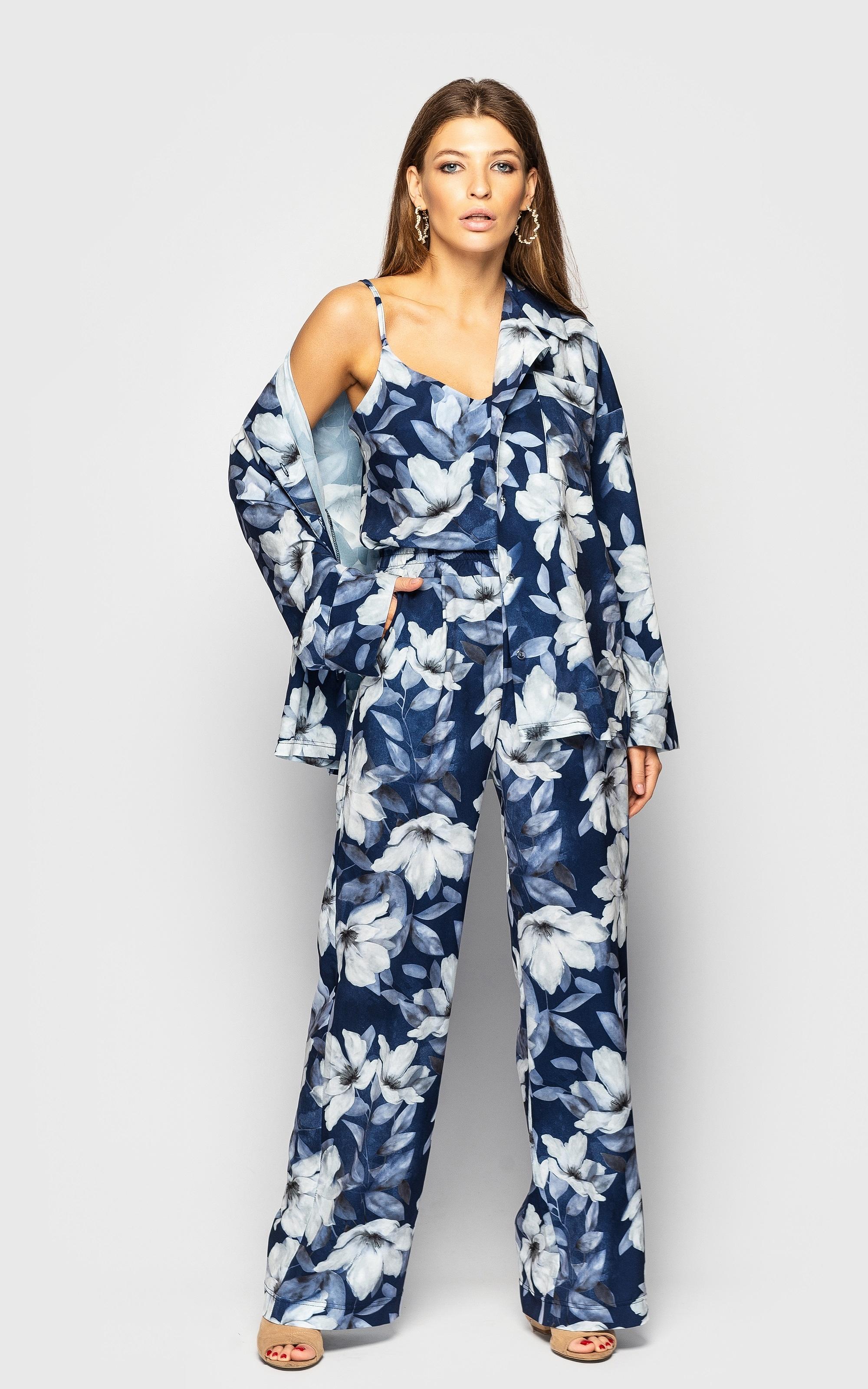 Нереально крутой женский костюм тройка пиджак+брюки+топ