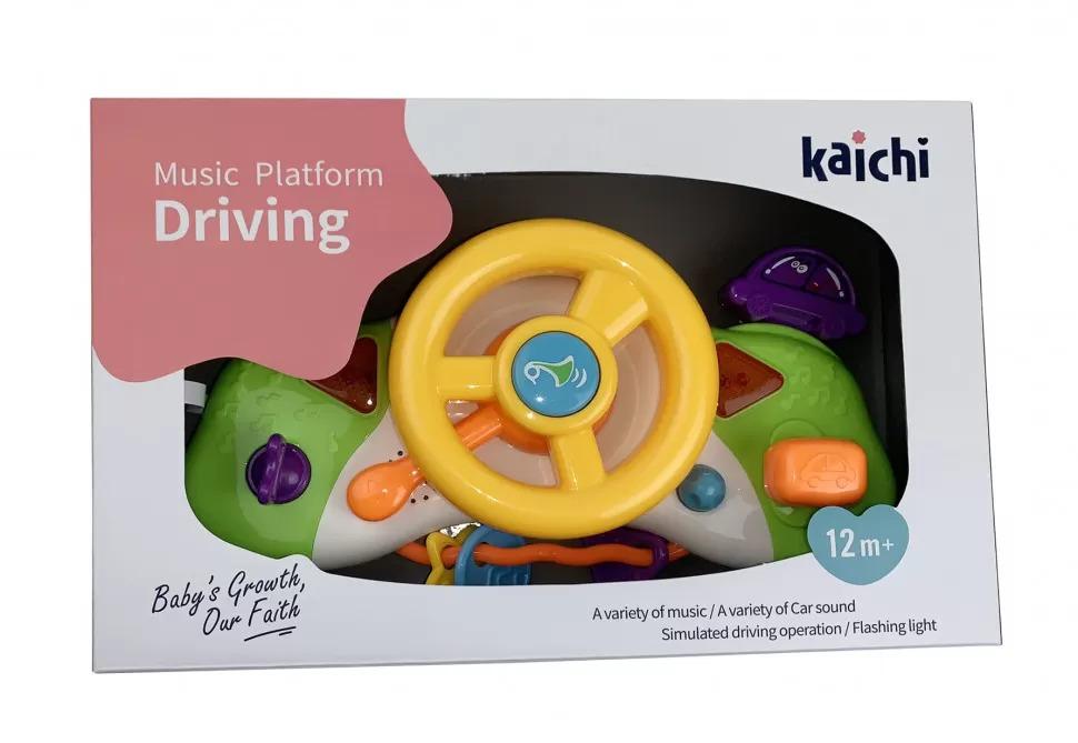 детский руль автотренажер