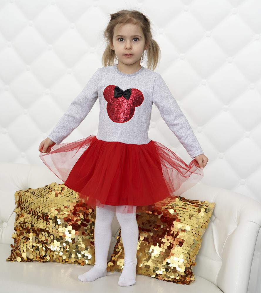 платье детское с пышной юбкой