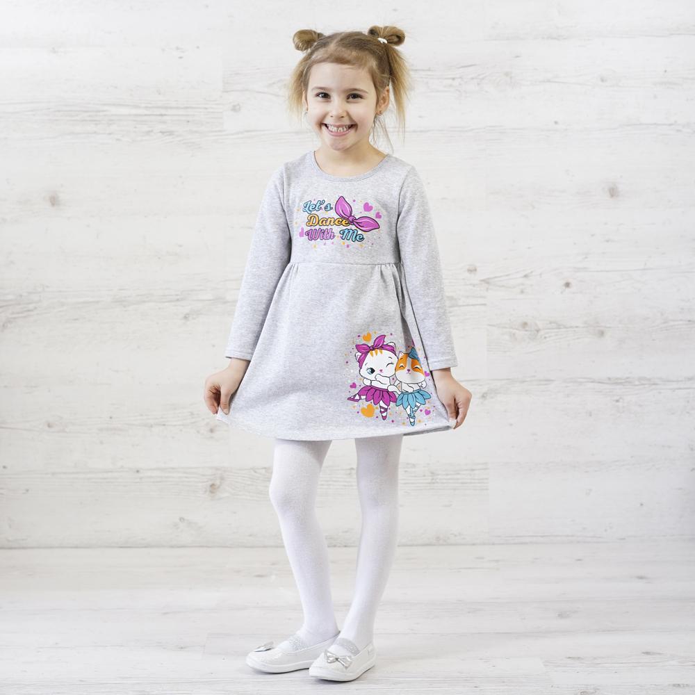 детское платье с начесом