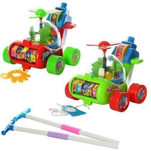 каталка вертолет детская игрушка музыкальная