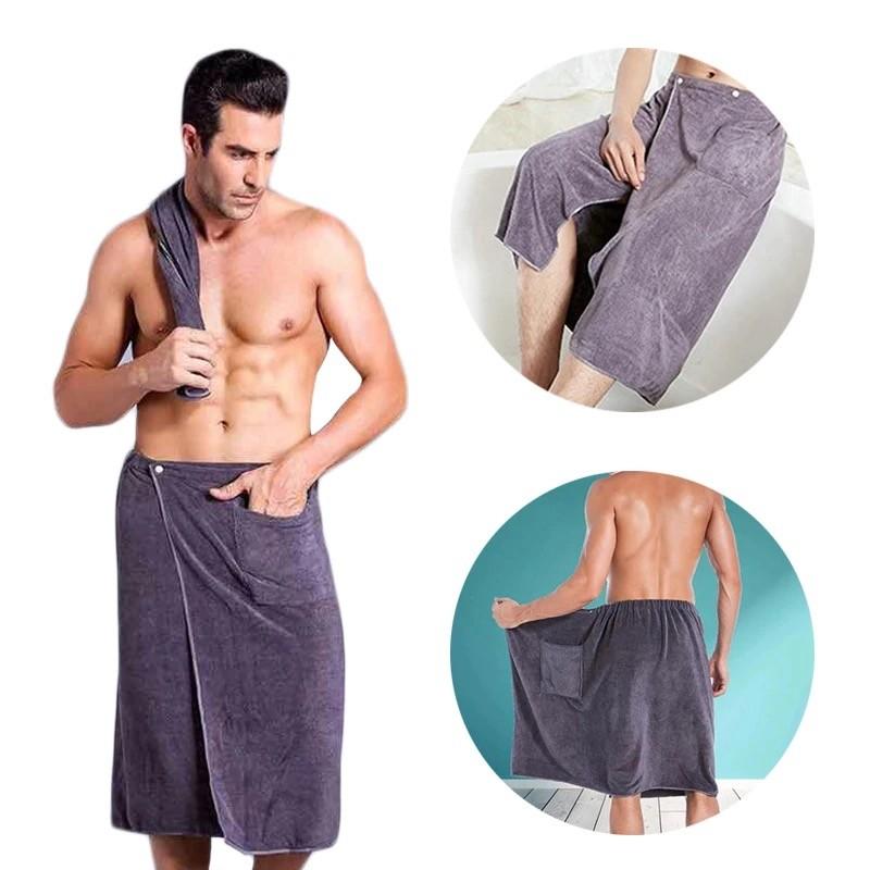 полотенце мужское на кнопках
